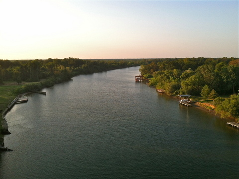 Colorado River, Exotic Isle-Matagorda, Texas